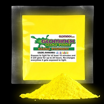 Blacklight Color Powder 70g-  Yellow
