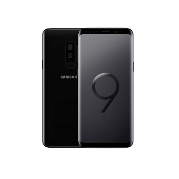 Samsung Galaxy S9 Plus 64GB, Midnight Black