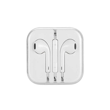 WK RW-L01 Wired Earphone, White