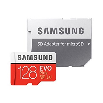 Samsung MicroSD Card 128GB With Adapter