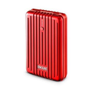 Zendure A3TC External Battery 10000mah, Red