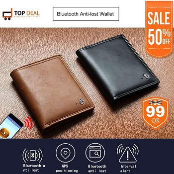 Bluetooth Anti-lost Wallet, Assorted Colour