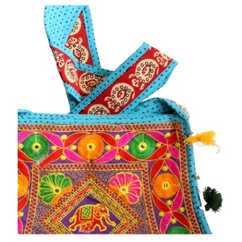 BBH - Cotton Handcrafted Women Hand Bag-U44JP901488F2