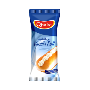 Qbake Vanilla Roll 1 pc