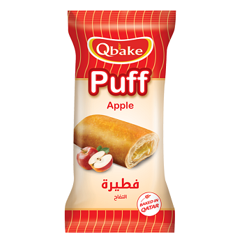 Qbake Puff Apple