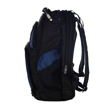 Targus Drifter 16 Inch Laptop Backpack - Black/Blue