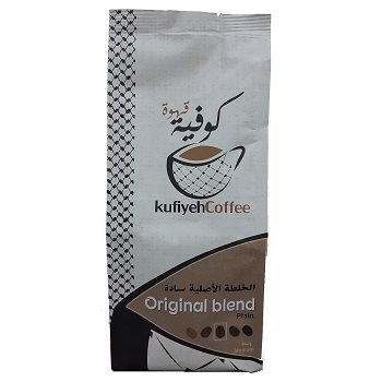 KufiyehCoffee Original Blend - Medium Plain Coffee
