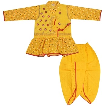 Moni - Cotton Boys Dhoti Kurta-I01JP9C15BB11