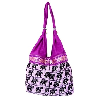 Misha - Handicraft Shoulder Bag-U11JP7F0C6269