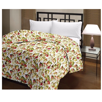 Jheel - Cotton Printed Double Bed Ac Dohar-Z65JPA3754CB2