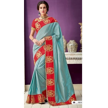 Silk Saree With Blouse-017ST3213A3F7