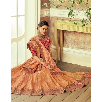 Maryam - Brocade Embroidery Lehenga Choli-017STAB5F8408