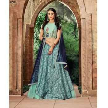 Maryam - Silk Net Embroidery Lehenga Choli-017ST441CC82D