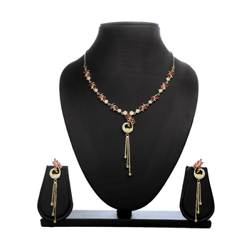 Greeny - Alloy Multi Color Necklace Sets-210ST60EC7A77