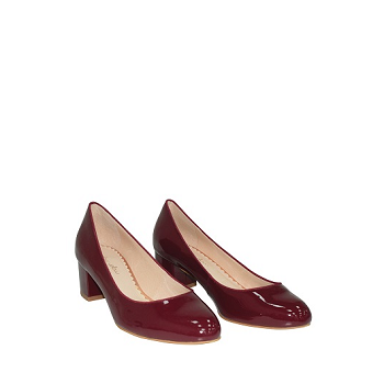 Mellow Yellow Pumps Eclopy Burgundy