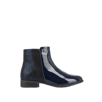 Mellow Yellow Kids Boots Mncaloune Blue