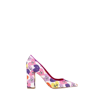 Mellow Yellow Pumps Dechoupin Pink