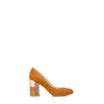 Mellow Yellow Pumps Dabol Camel