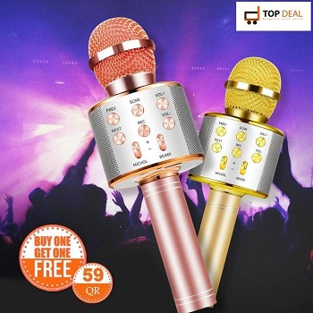 Wireless Microphone ( Buy 1 get one 1)