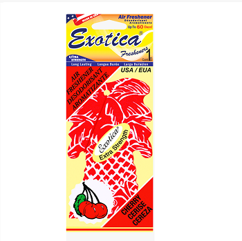 Exotica Air Freshener Palm Tree Cherry