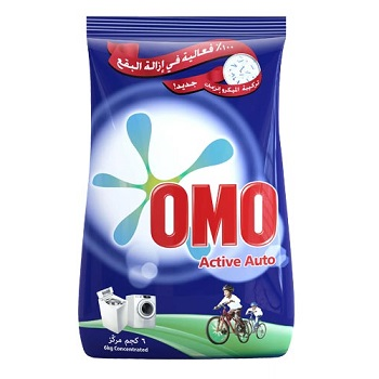 Omo Automatic Detergent Powder 6 Kg Pouch Front Load