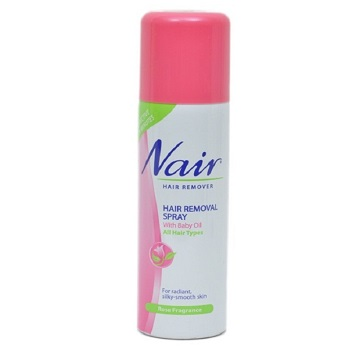 Buy Nair Hair Removal Spray Rose Fragrance 200 Ml Online At Best