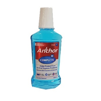 Anchor Complete 10 Cool Mint Mouth Wash 250 Ml