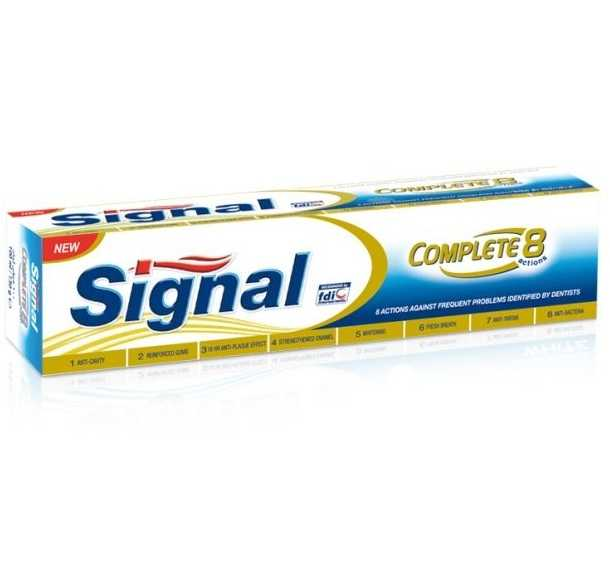Signal Complete 8 Action Gold 48x120ml
