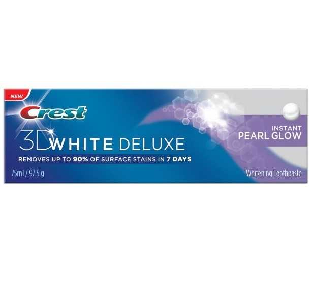 Crest TP 3D White Deluxe 75ml Pearl Grow
