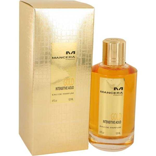 Mancera Paris Gold Intensitive Aoud Perfume, 120ml