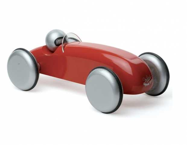 Vilac - Al Mizar Red Speedster Wooden Toy Car