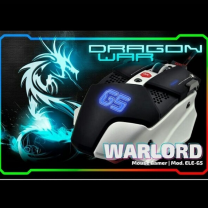 Gaming Mouse Warlord 4000 DPI with Macro Black