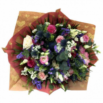 Mesmerizing Season Flowers Bouquet