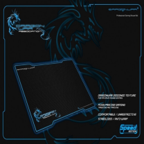 Dragon War Gaming Mouse Pad Ultra Fast 340x260x5mm Blue