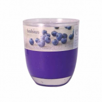 Bolsius Glass Scented Blue Candle
