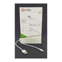Celly USB Lightning Cable 1 MT