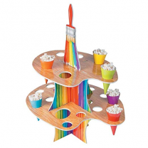 Party Store Artist Party Treat Stand With Cones