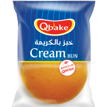 Qbake Cream Bun 1 pc