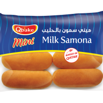 Qbake Mini Milk Samona 8 pcs