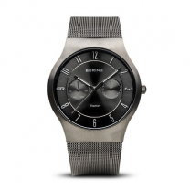 Titanium Brushed Grey Men's Watch 11939-077
