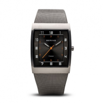 Titanium Brushed Grey Men's Watch 11233-077