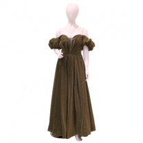 Ideal Fashion party dress, Dark Olive