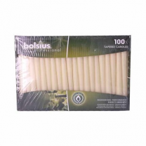 Bolsius Tapered Home Decor Candle 1x100 Pcs