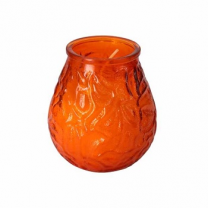 Bolsius With Lowboy Unscented Glass Candle