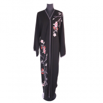 Open Abaya With Embroidery Hand Work Model60