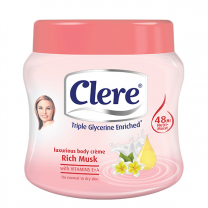 Clere Body Cream - Musk 500 ML