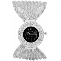 Amaze Silver Net Chain Women's Watch