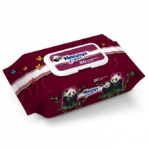Nannys Fresh Wet Wipes 80 Pcs