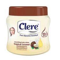 Clere Body Cream - Tropical Coconut 300 ML