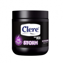Clere Body Cream - For Men Storm 450 ML